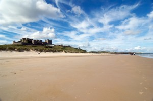 Bamburgh Castle - View North
